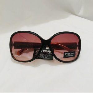 Steve Madden Black Sunglasses